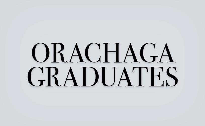 Orachaga Graduates