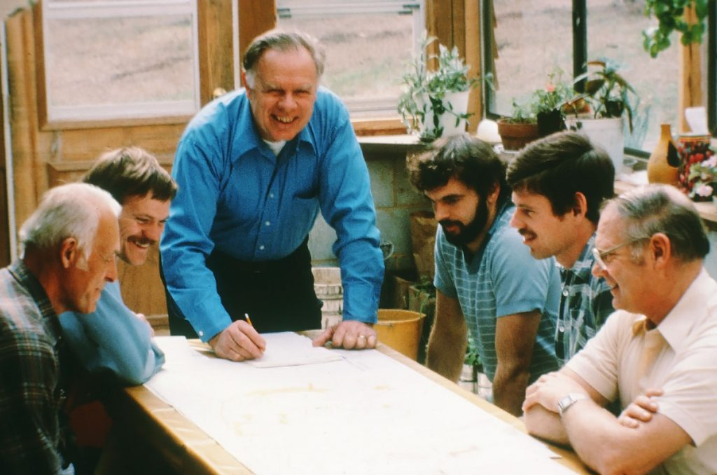 David De Jong in the early days of Helps International Ministries